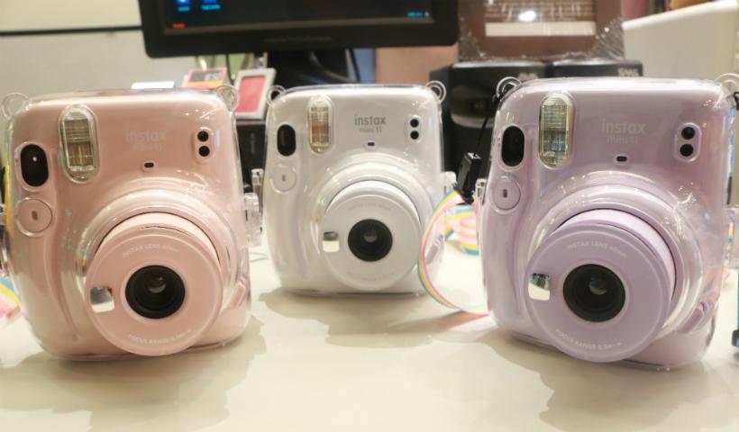 Câmeras Instamax para registrar os momentos especiais