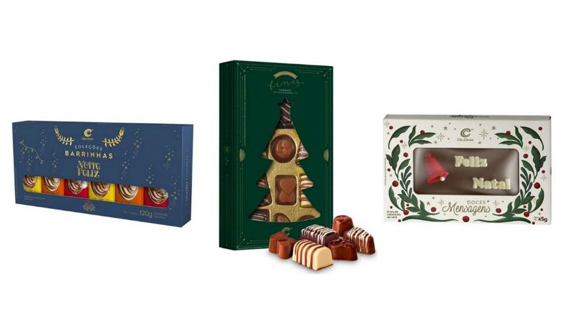 Natal: chocolates da Planeta Bombom no RioMar Online