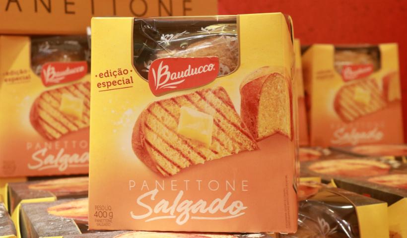 Panettone salgado da Bauducco em edição especial no RioMar