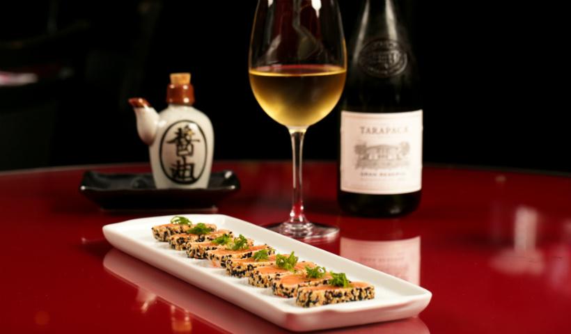 Sushi com vinho: gosta? Veja nossa seleção no RioMar Online