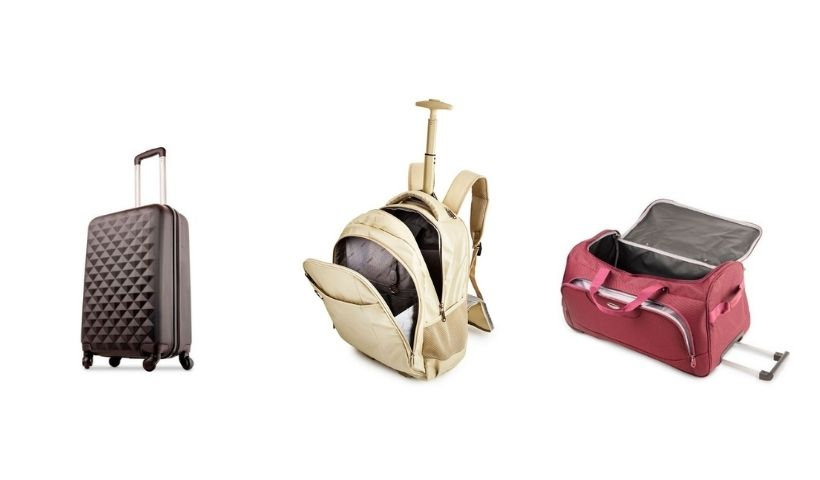 Viagem marcada? Malas e mochilas da Bagaggio no RioMar Online