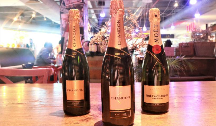 Champanhe para receber 2021 em alto estilo