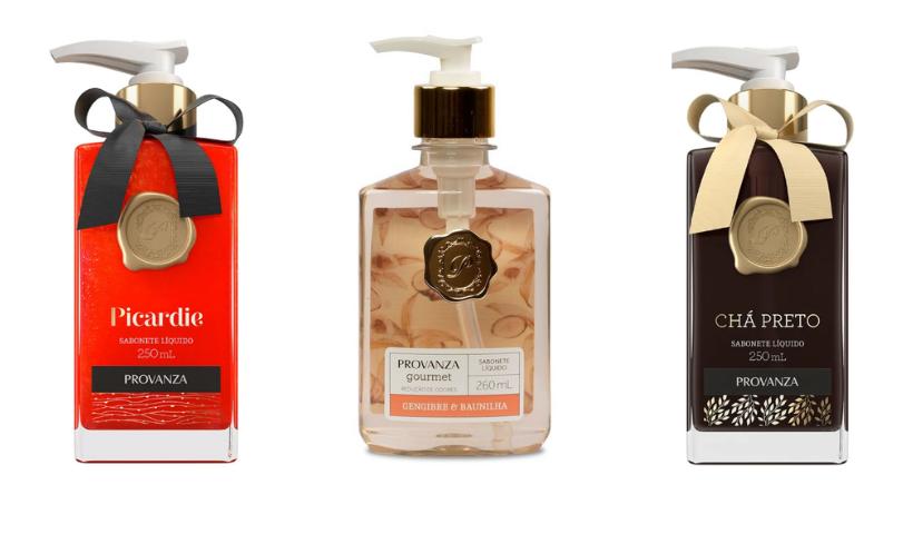 Provanza destaca sabonetes líquidos gourmet para presentear