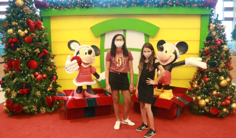 Espaço Instagramável: Mickey e Minnie dão vida aos seus clicks