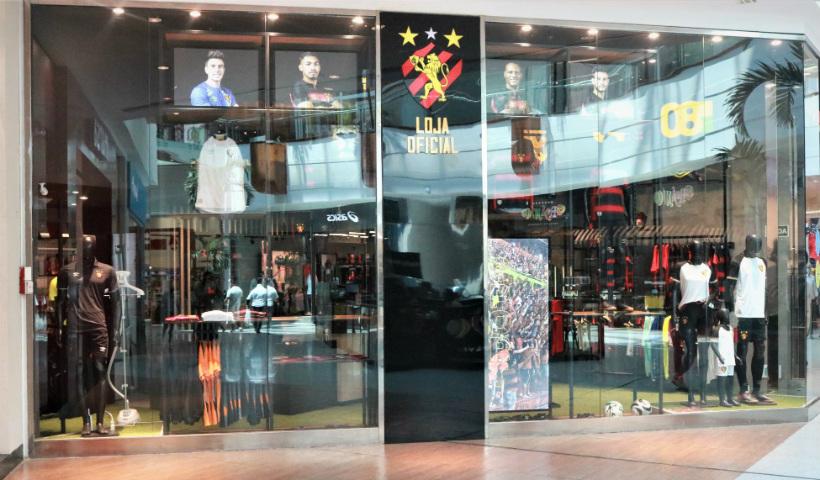 Alô, torcida do Leão: loja Cazá do Sport inaugura no RioMar