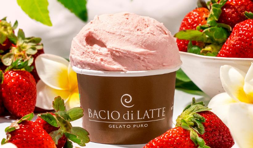 Novos sabores de verão chegam na Bacio di Latte
