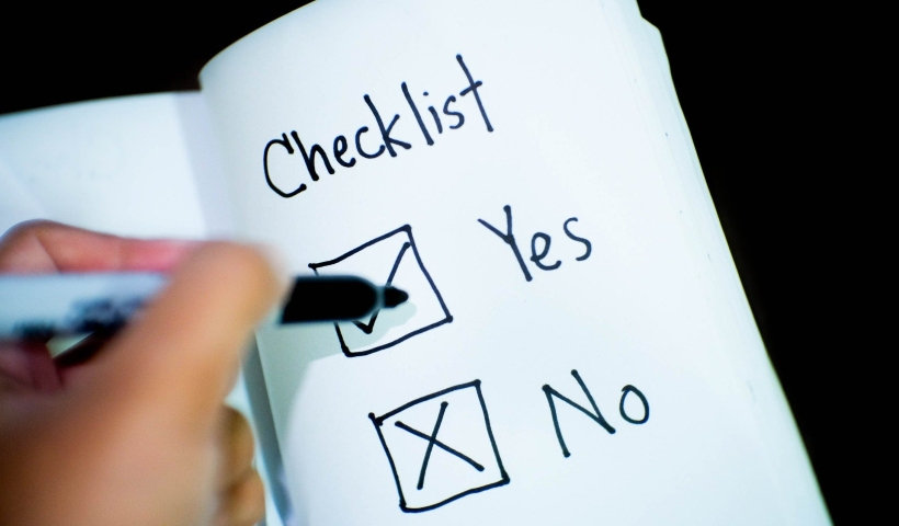 ENEM: hora de repassar o checklist