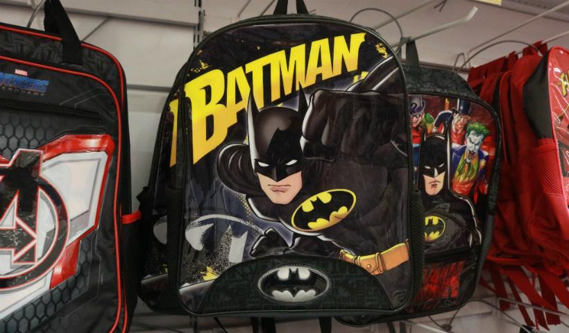 De heróis a princesas: mochilas temáticas para a volta às aulas