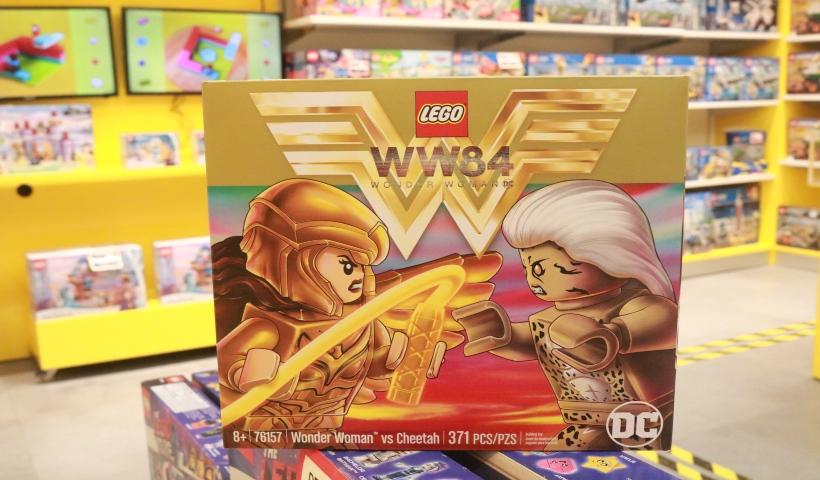 Universo da Mulher-Maravilha invade a Lego