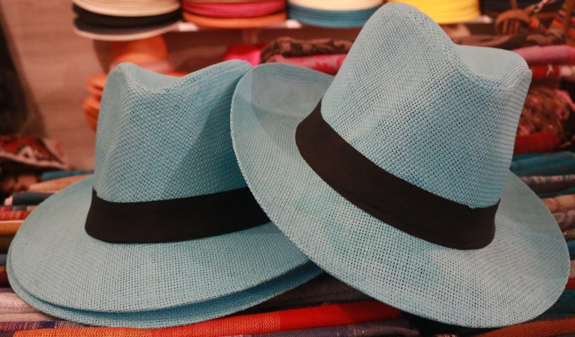 Chapéus Panamá de todas as cores