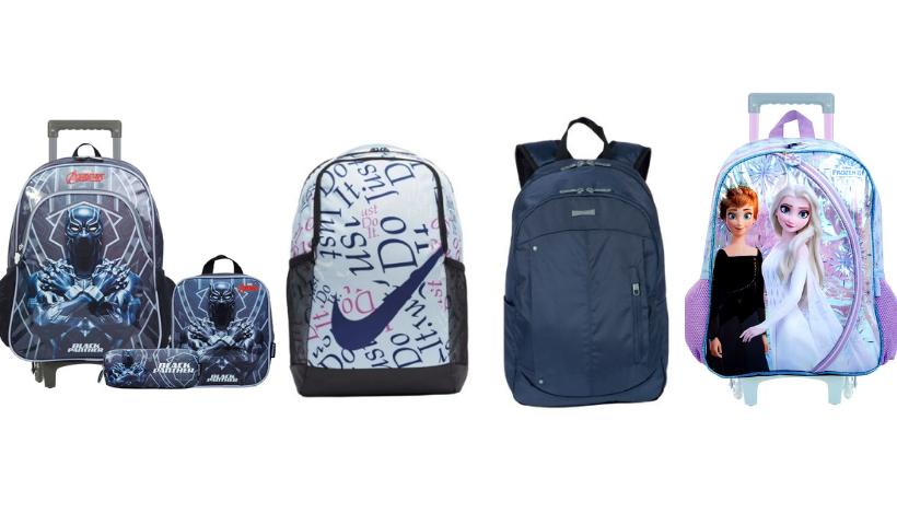 Volta às Aulas: mochila para todas as idades no RioMar Online