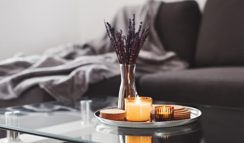 Velas aromáticas da Provanza no seu lar