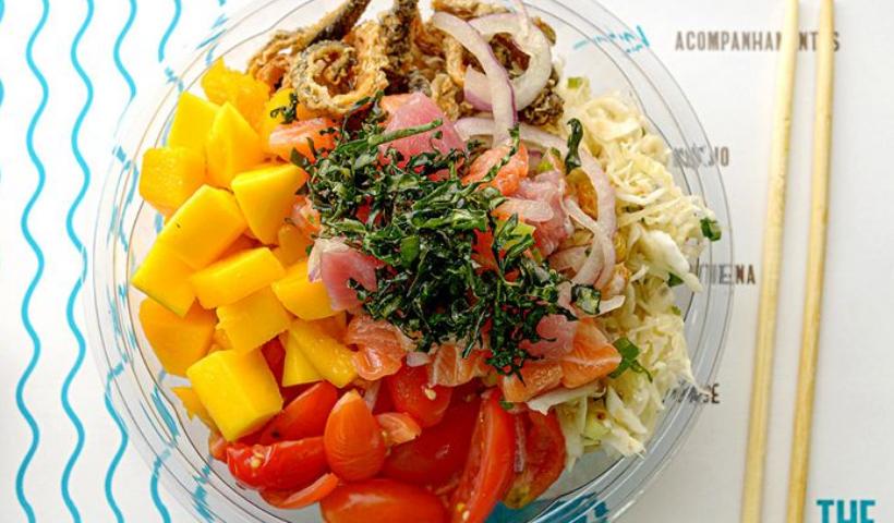 Comida havaiana do The Poke é novidade no RioMar Online
