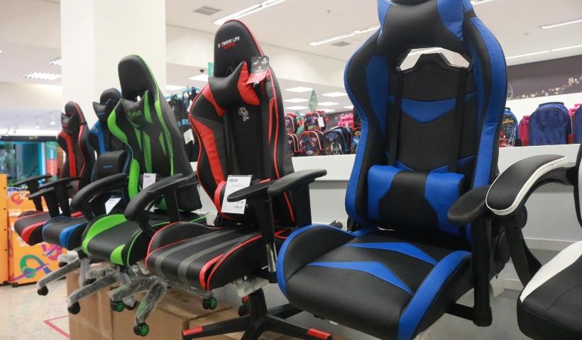Cadeiras gamers para quem ama imergir nos jogos