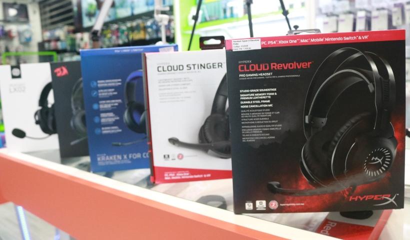 Headset Pro chama a atenção dos gamers na Geek Tech