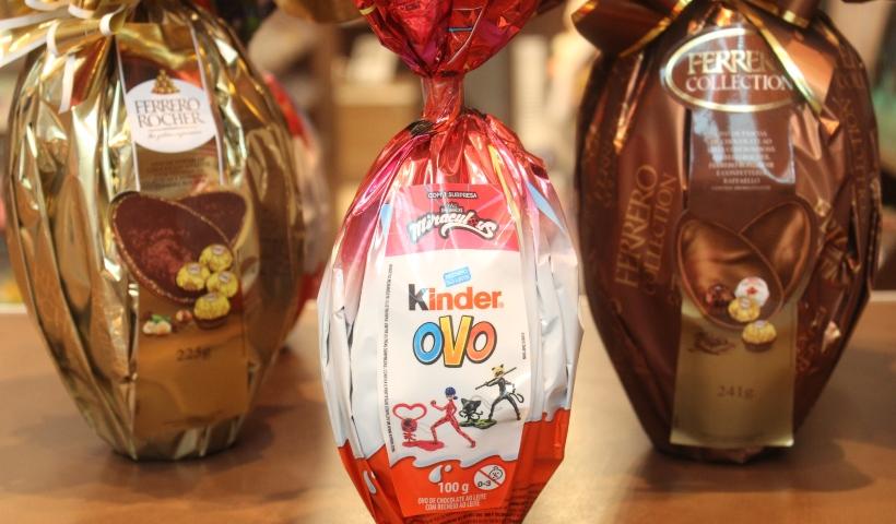 Ovos de Páscoa já chamam a atenção na Planeta Bombom