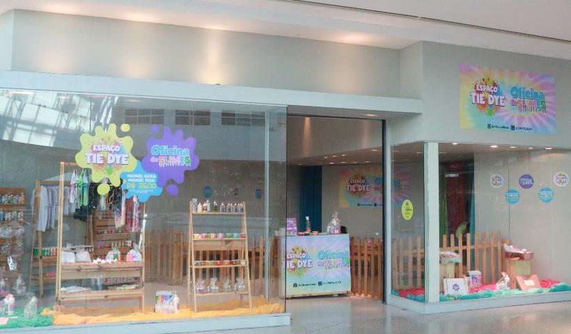 Tie Dye e Slime: oficinas criativas divertem a criançada
