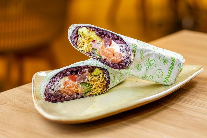 Burrito e rolls especiais entre as novidades do Greenmix