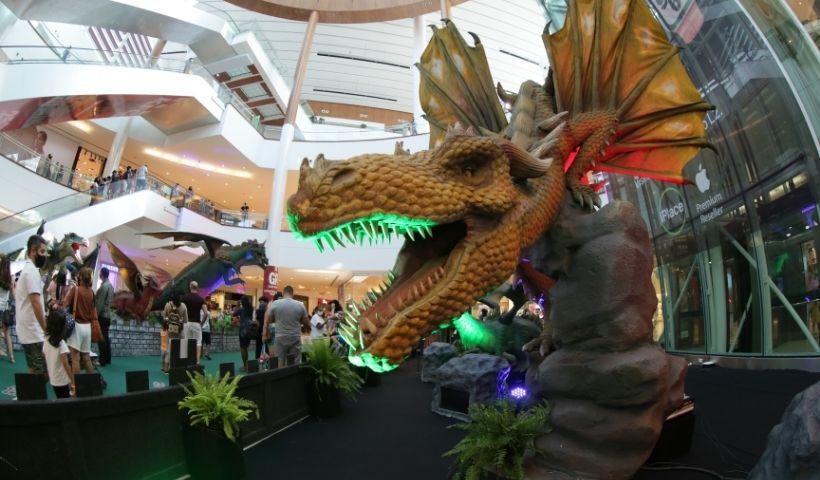 Dragão das Trevas: já ouviu falar? No RioMar ele faz sucesso