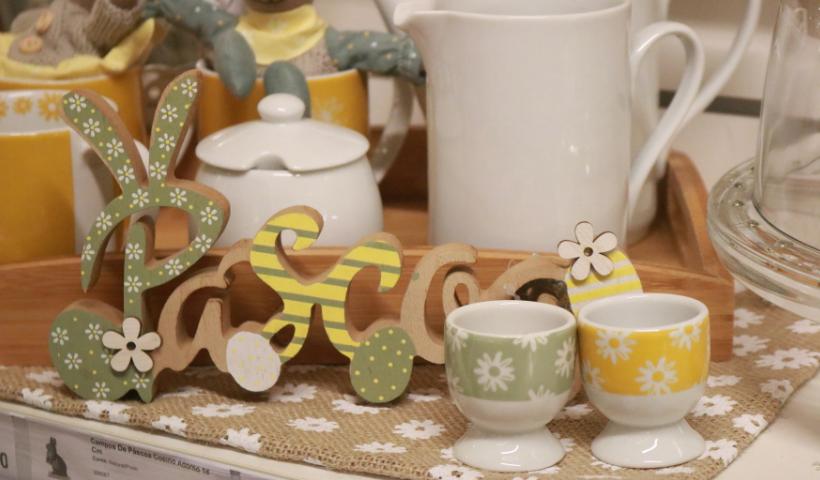 Páscoa: decorar, preparar e servir com os itens da Tok Stok