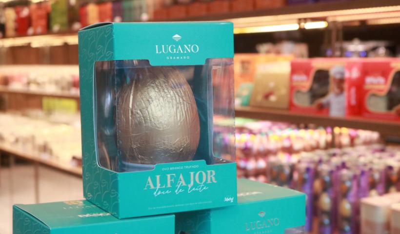 Páscoa da Lugano traz chocolates para todos os gostos