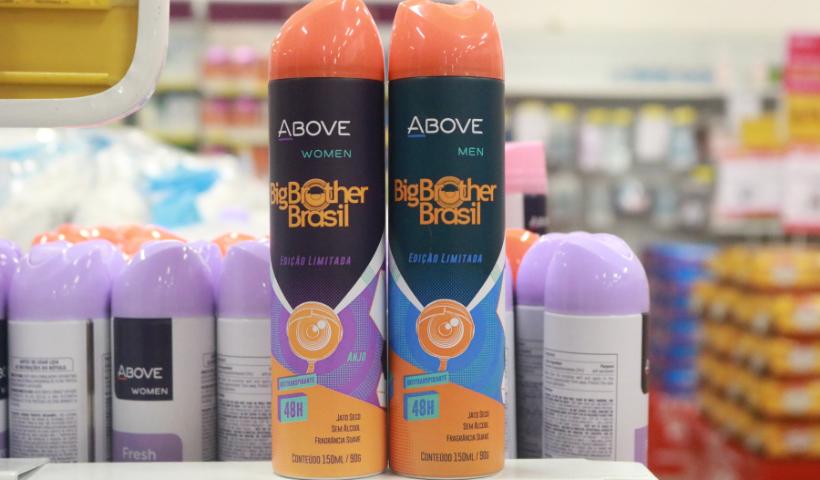 BBB: edição limitada de desodorantes nas Lojas Americanas