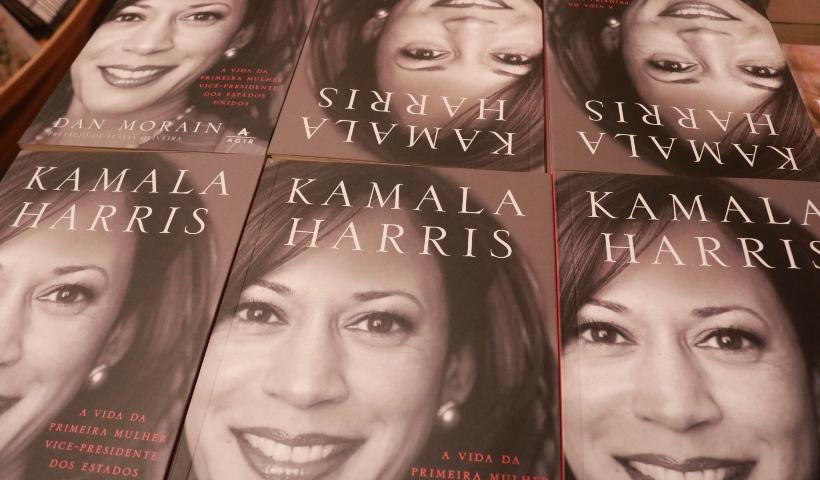 Biografia de Kamala Harris chega à Livraria Cultura