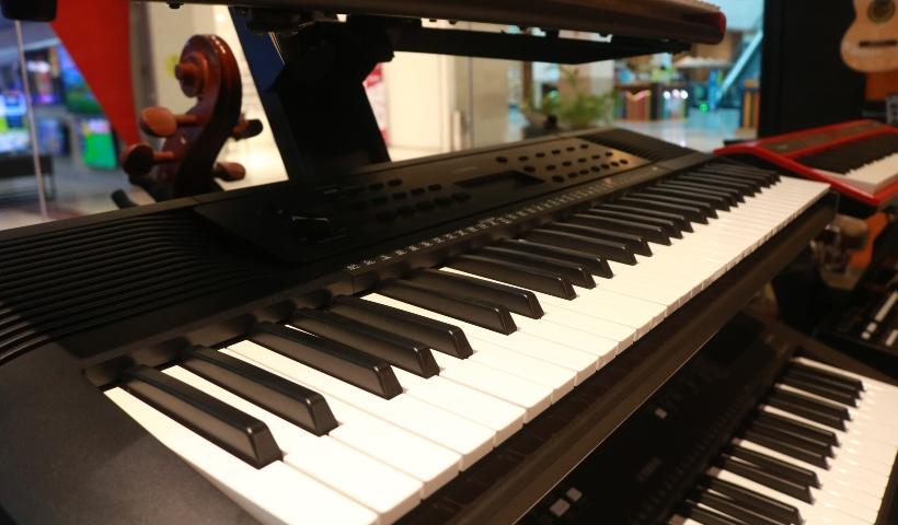 Teclados musicais são destaque na Gig