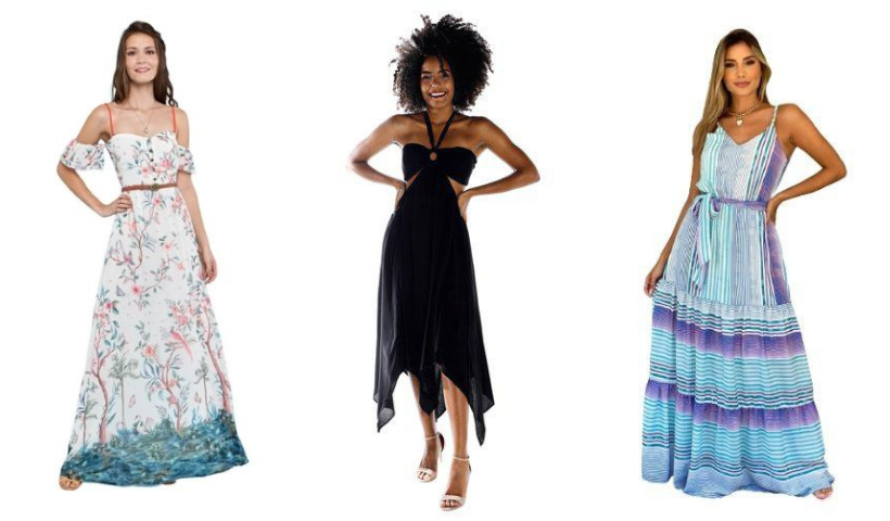 Vestido longo: encontre a peça curinga no RioMar Online
