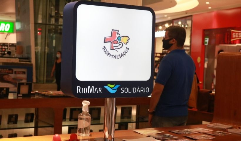 Hospitalhaços: alegria de doar no Quiosque Solidário RioMar