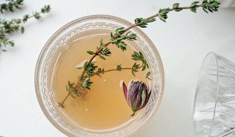 Drinks com chá para fazer em casa