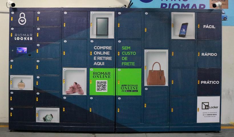Locker RioMar Online: nova opção de retirada rápida e segura