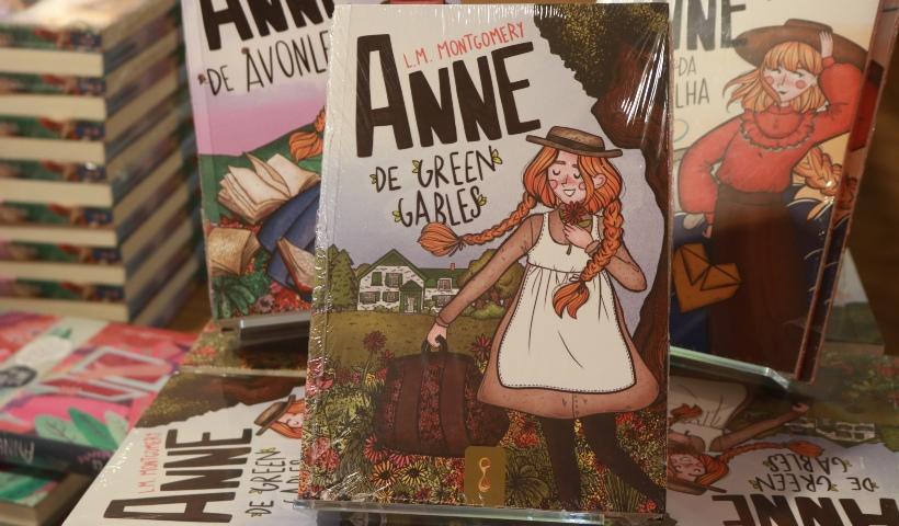 """Livraria Cultura: coleção """"Anne"""" chama a atenção da garotada"""