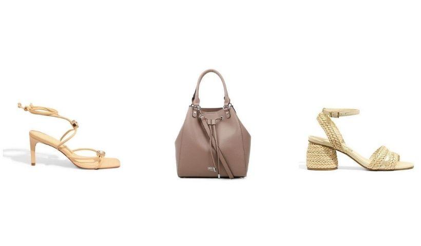 Bolsas e sandálias: combinação perfeita para elas