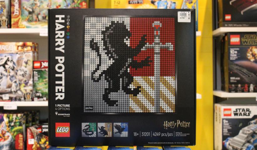 Linha Arts da Lego em destaque para colecionadores