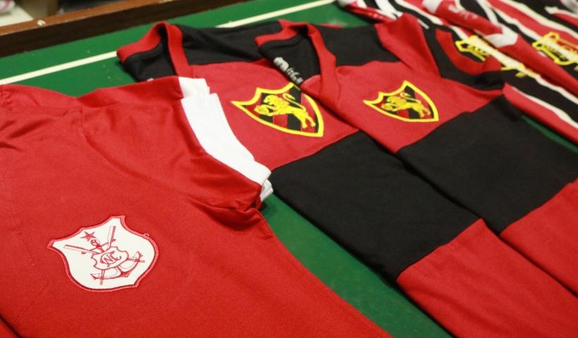PE Retrô: camisas clássicas para os apaixonados por futebol