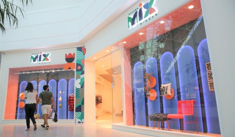 Espaço Mix: marcas pernambucanas e autorais no RioMar