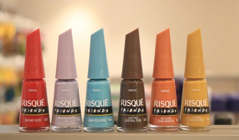 Friends: Risqué lança coleção de esmaltes inspiradas na série
