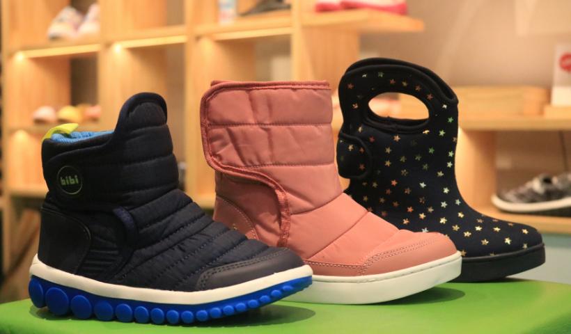 Novas botas infantis da Bibi para a temporada de inverno