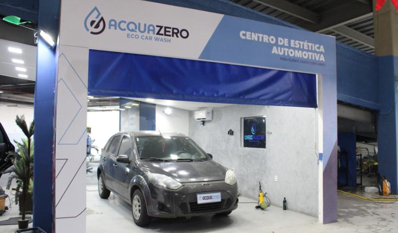 Acquazero inaugura Centro de Estética Automotiva no RioMar