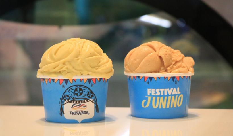 Frisabor revela o gosto do São João com sorvetes temáticos