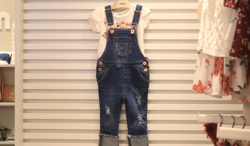 Semana do Jeans e Calçados destaca looks para a criançada