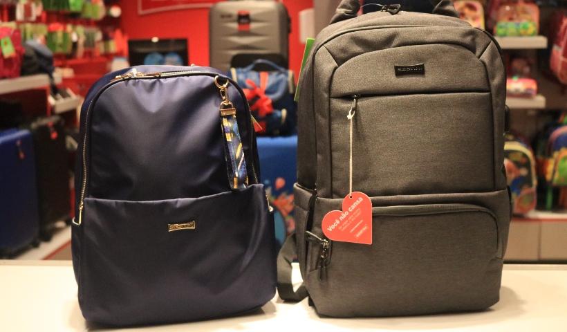 Viagem romântica? Encontre de malas a mochilas na Sestini