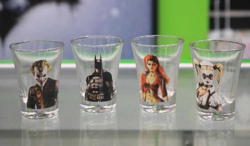 Kits shots chamam a atenção dos nerds na Geek Gamer