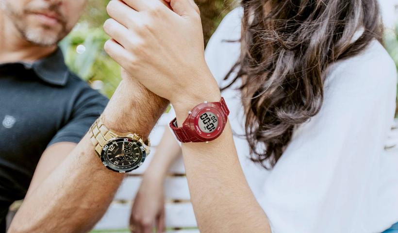 Dia dos Namorados com novos relógios na dica de presente