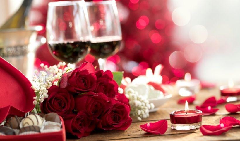 Chocolate e vinho para o Dia dos Namorados