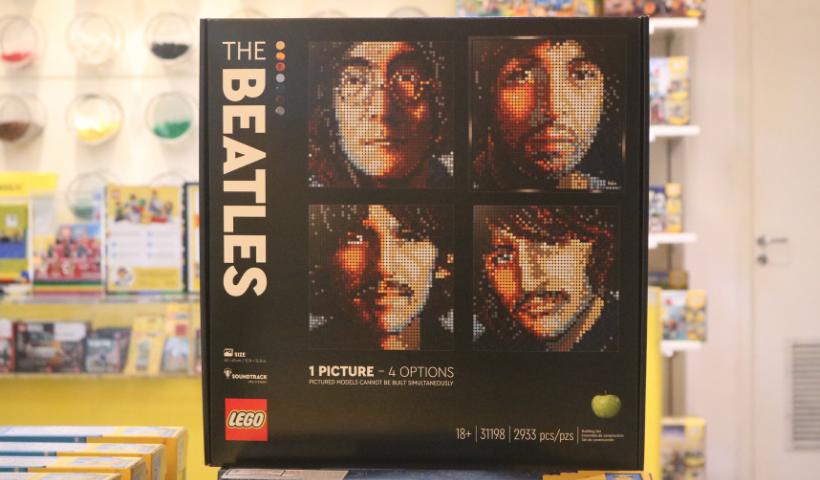 Lego colecionável dos Beatles para os fãs da banda