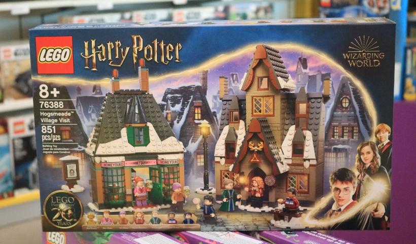 Lego: Harry Potter estampa nova coleção de brinquedos