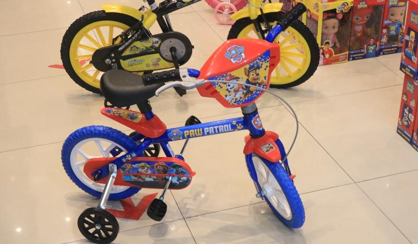 PB Kids: bicicletas infantis agitam as férias dos pequenos