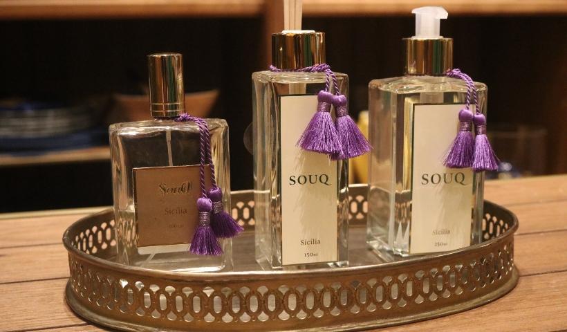 Souq: linha de aromas Sicília para perfumar seus dias